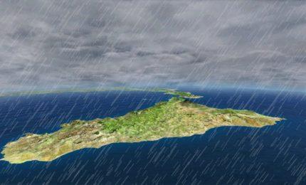 Maltempo, domani in Sicilia piogge e temporali intensi