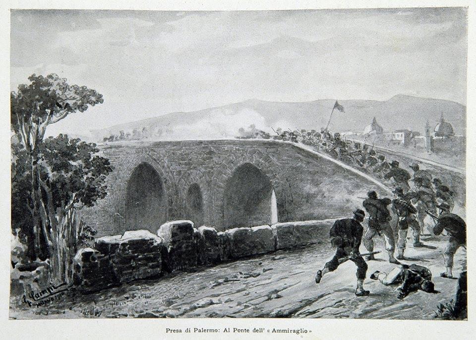 La vera storia dell'impresa dei Mille 29/ La battaglia del Ponte dell'Ammiraglio: Garibaldini, inglesi e i generali felloni del Borbone perdono la dignità!