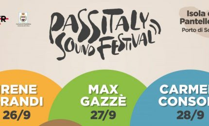 Al Passitaly Sound Festival di Pantelleria concerti di Irene Grandi, Max Gazzè e Carmen Consoli