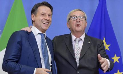 """Juncker elogia il Governo Conte bis: """"È come con Tsipras"""""""