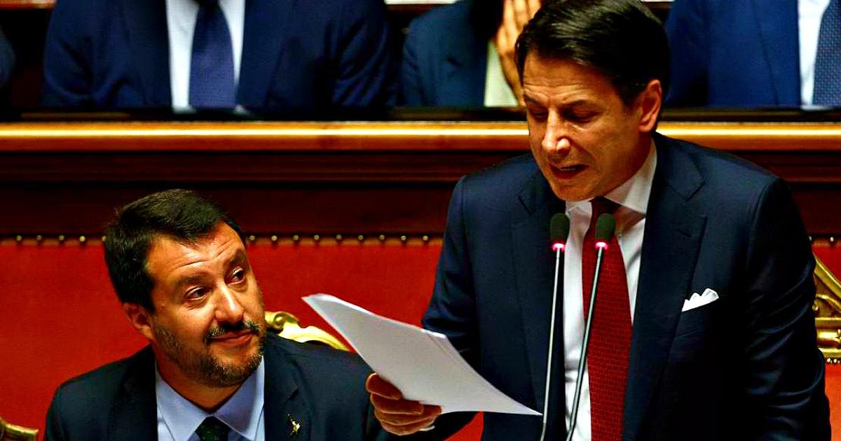 Non è che Conte ha cercato di 'giocarsi' Salvini con la sponda tedesca e ha fallito?/ MATTINALE 378