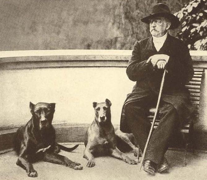 Gli alani del 'Cancelliere di ferro' Otto von Bismarck