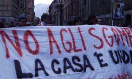 """Sgomberi: a Palermo si possono fare, a Messina chi le dispone diventa """"forte con i deboli""""..."""