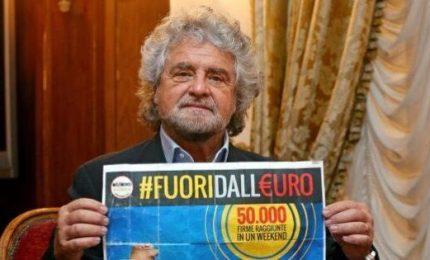 Il tradimento di Beppe Grillo e del Movimento 5 Stelle è cominciato con la finta battaglia contro l'euro
