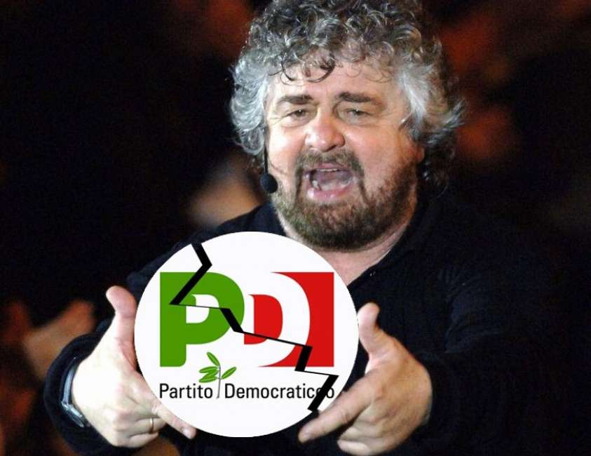 E se Beppe Grillo avesse già 'chiuso' l'accordo per far confluire il Movimento nel PD?