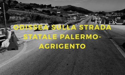 Strada a 'scorrimento veloce' Palermo-Agrigento: come in guerra, sotto i bombardamenti.../ MATTINALE 395