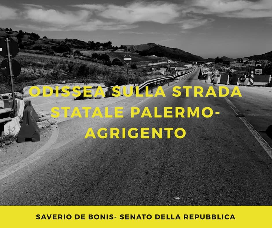 Strada a 'scorrimento veloce' Palermo-Agrigento: come in guerra, sotto i bombardamenti…/ MATTINALE 395