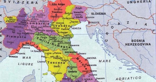 Cartina Politica Italia Del Nord.Renzi Rinsalda Il Partito Unico Del Nord Ma Lui E I Suoi Sodali Dovranno Fare I Conti Con Il Sud I Nuovi Vesprii Nuovi Vespri