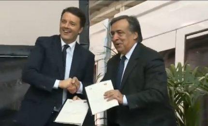Ma l'80 per cento del PD siciliano non dovrebbe essere con Renzi?
