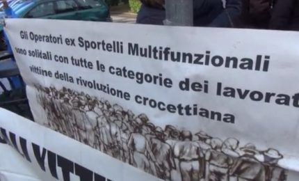 Sportelli Multifunzionali, torna la protesta a Palermo. Lettera alla Ministra grillina Nunzia Catalfo