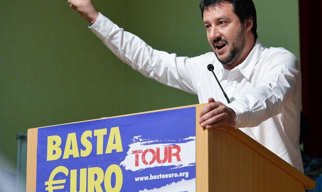 … e alla fine anche la Lega di Savini si è consegnata mani e piedi all'Unione Europea dell'euro!