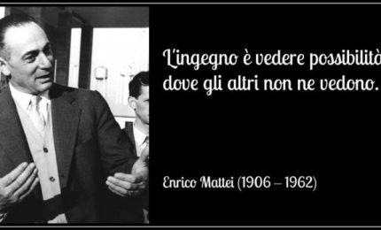 Oggi ricordiamo Enrico Mattei con l'ultimo discorso tenuto in Sicilia prima di morire