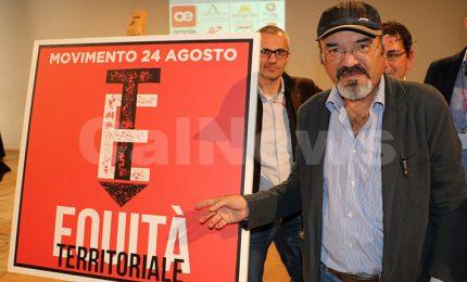 L'intervento di Pino Aprile al congresso fondativo del Movimento 24 Agosto a Cosenza (VIDEO)