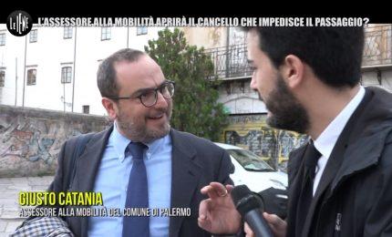 Il Comune di Palermo e l'assessore Giusto Catania: per quel cancello in più... (VIDEO)