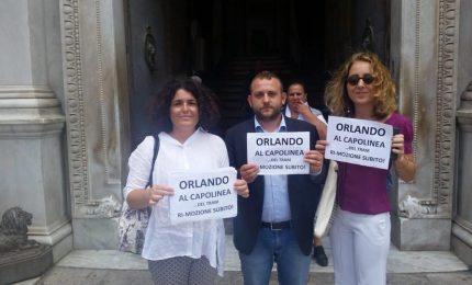 A proposito della mozione di sfiducia grillina al sindaco di Palermo Leoluca Orlando
