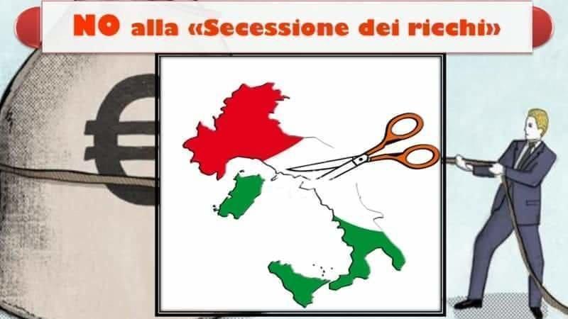 Pino Aprile: un 'colpo di Stato'per far passare la 'Secessione dei ricchi', PD e M5S peggio del Governo Lega-grillini!