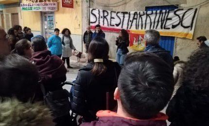 """A San Biagio Platani fiaccolata dei giovani sotto il segno di """"si resti arrinesci"""""""