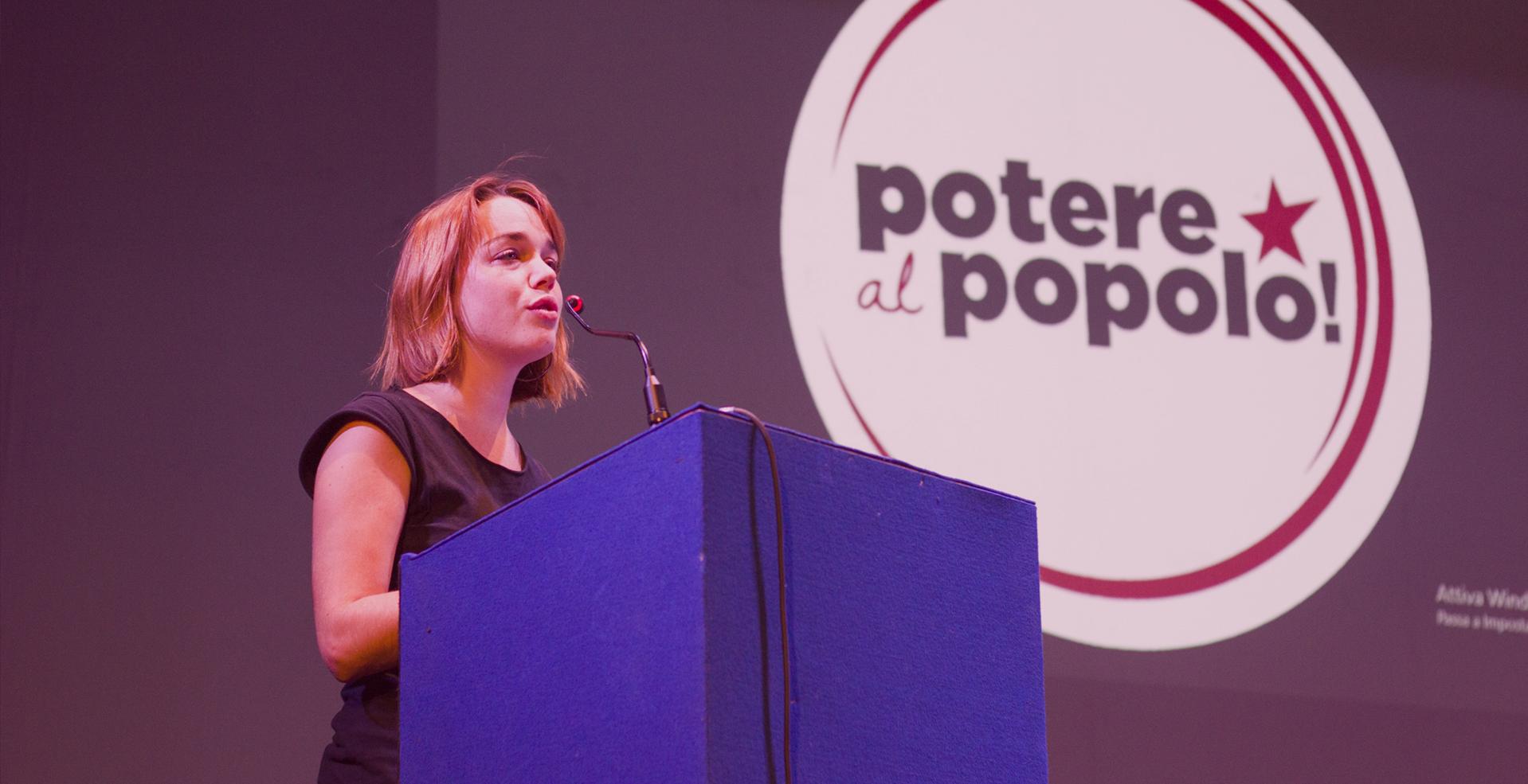 """Parla la candidata di Potere Al Popolo in Emilia Romagna: """"Il PD è come la Lega"""" (VIDEO)"""