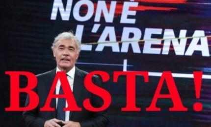 """E' il momento che tutto il Sud dica """"Basta!"""" a Massimo Giletti e a 'Non è l'Arena'"""