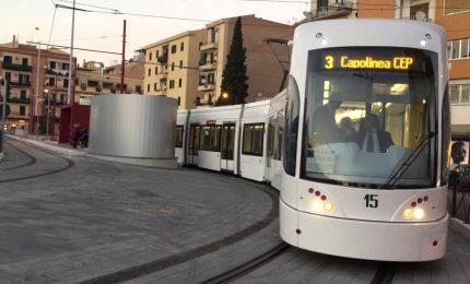 Palermo, 5 Gennaio, ore 19,50, Tram Notarbartolo-Borgo Nuovo quasi vuoto. Una città senza speranza