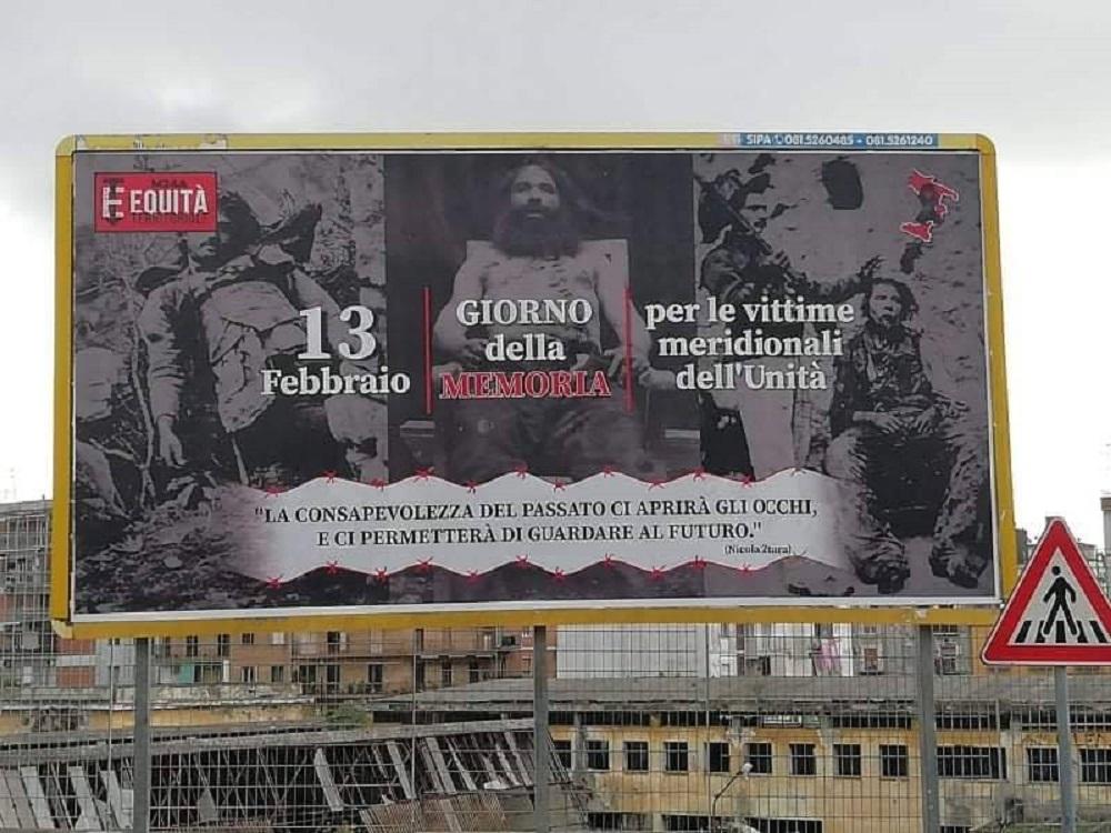 Il 13 di Febbraio è il Giorno della Memoria delle vittime meridionali dell'unità d'Italia/ MATTINALE 527