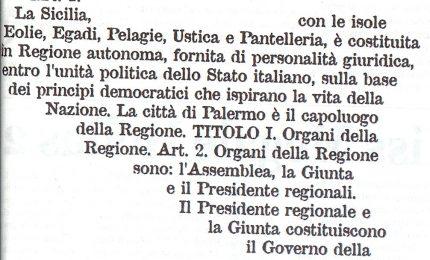 Oggi anniversario dello Statuto siciliano che diventa Legge Costituzionale: noi lo ricordiamo così