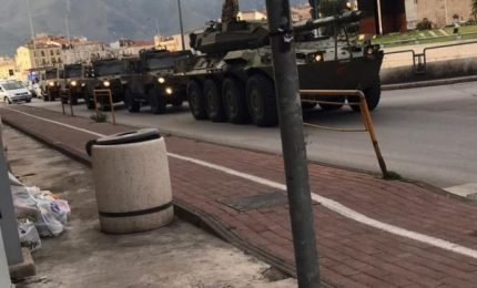 Il 'mistero' dei carri armati che girano per le città italiane