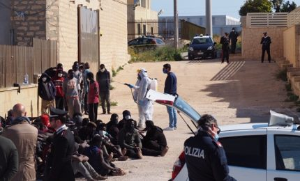 Nuovo sbarco di migranti: in 80 a Portopalo di Capo Passero