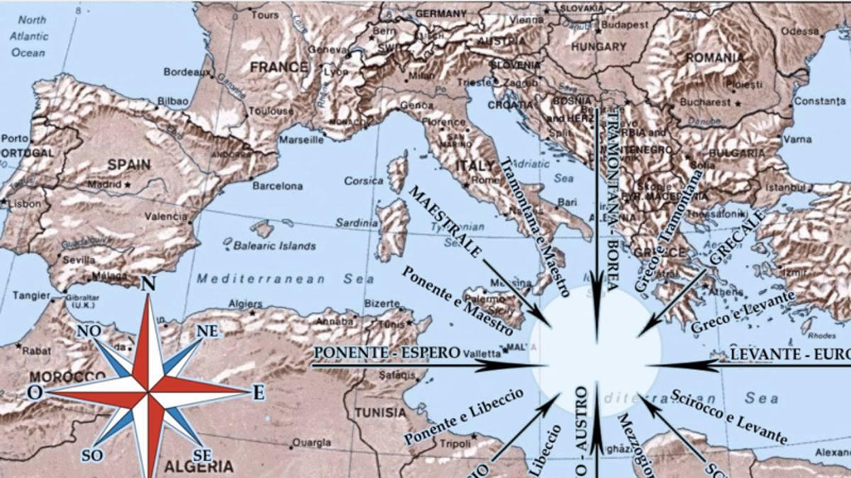 I venti che soffiano nel Sud Italia lo proteggono dal Coronavirus