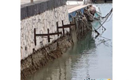 Marrobbio nel porto turistico di Agrigento: gorghi impressionanti! (VIDEO)