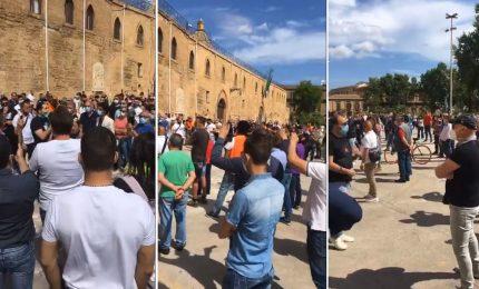 A Palermo la protesta del 'pianeta movida' contro la politica del nulla mescolato col niente