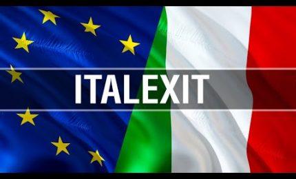 ... e così gli 'europeisti' italiani furono costretti ad acclamare l'uscita dell'Italia dall'euro!