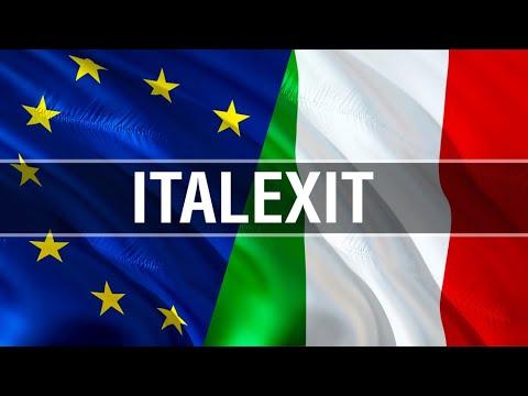 … e così gli 'europeisti' italiani furono costretti ad acclamare l'uscita dell'Italia dall'euro!