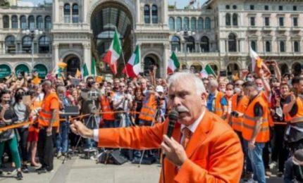 """Diego Fusaro? """"Gilet Arancioni? Poche idee e confuse. Ma la piazza va interpretata, come insegna Gramsci"""""""