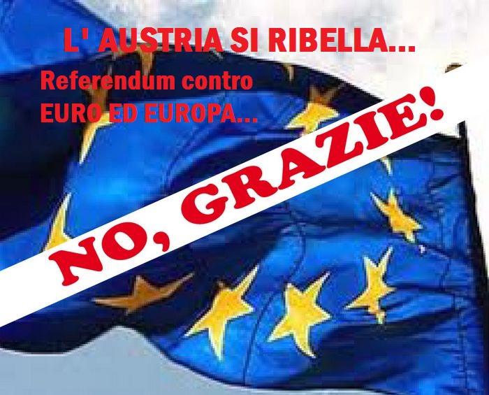 In Austria referendum per uscire dalla Ue, l'Unione europea ha ormai i giorni contati/ MATTINALE 465
