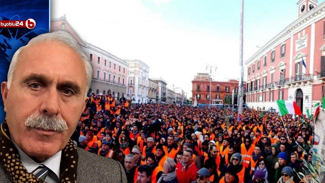 Oggi a Palermo manifestazione dei Gilet Arancioni: ci sarà il generale Antonio Pappalardo