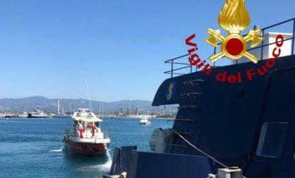 Adesso anche l'incendio nell'aliscafo Eraclide in servizio tra la Sicilia e le isole Eolie