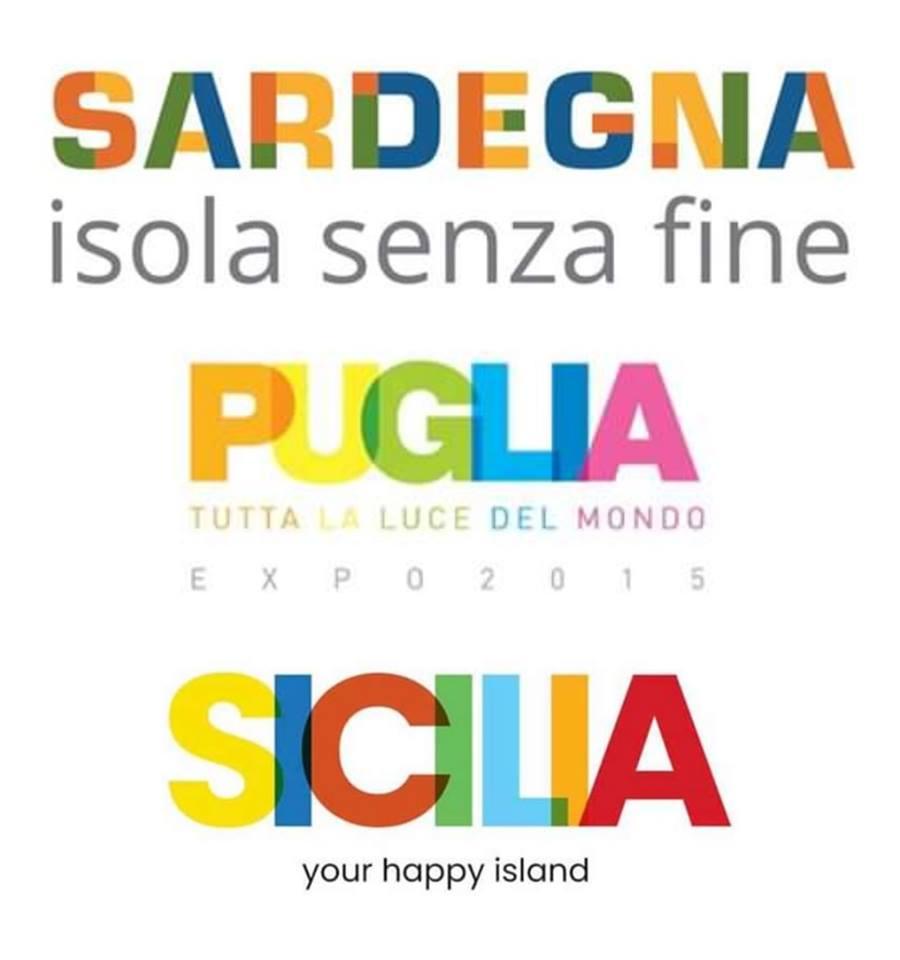 Il logo per la promozione turistica della Sicilia somiglia a quello della Puglia? Illusione ottica fu…