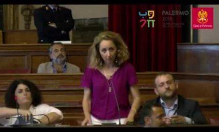 SERALE/ Palermo, scintille in Consiglio comunale: Giulia Argiroffi attacca il sindaco Orlando