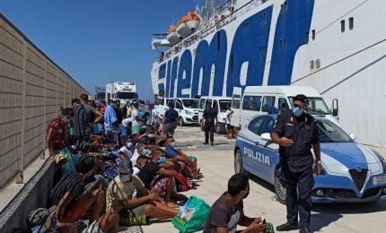 Sarebbero 25 i migranti positivi al Coronavirus sbarcati a Lampedusa