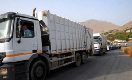 Palermo: le ruote dei camion che scendono dalla discarica Bellolampo vengono sanificate?