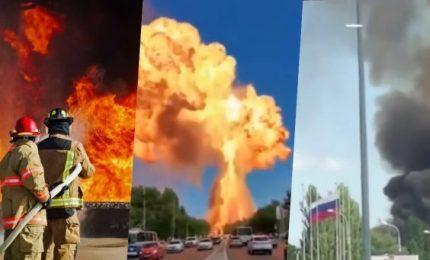 Volgograd, Russia: prima un incendio poi una tremenda esplosione (VIDEO)