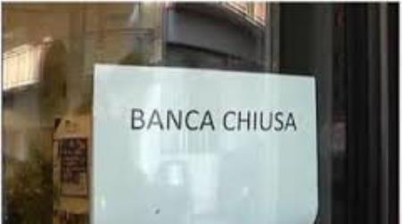 Cresce in Sicilia il numero dei Comuni privi di sportelli bancari