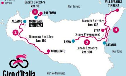Il Giro d'Italia a Palermo: va bene l'asfalto, ma non toccate 'a munnizza lungo le strade, segno distintivo della città!