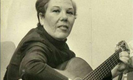 Domani Palermo ricorda la grande cantante siciliana Rosa Balistreri
