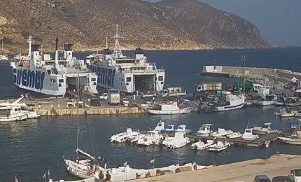 Trasporti marittimi: problemi al portellone della 'Sibilla', la nave che collega Trapani con le isole Egadi