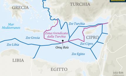Il mare conteso: lo scontro tra Grecia e Turchia. Video di Byoblu