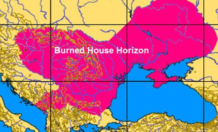 Il mistero dei giganteschi roghi che, fino all'età del bronzo, incendiavano le case