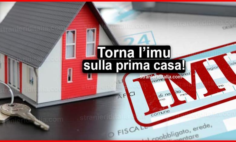 Il Commissario Ue Gentiloni e il PD vogliono ripristinare l'IMU sulla prima casa!/ SERALE