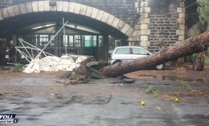 La tromba d'aria di Catania, USB: Regione e Comune aiutino i quartieri popolari colpiti